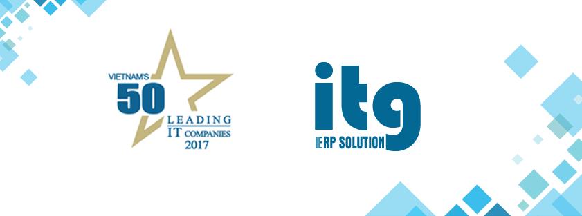 ITG vào TOP 50 doanh nghiệp CNTT hàng đầu Việt Nam 2017