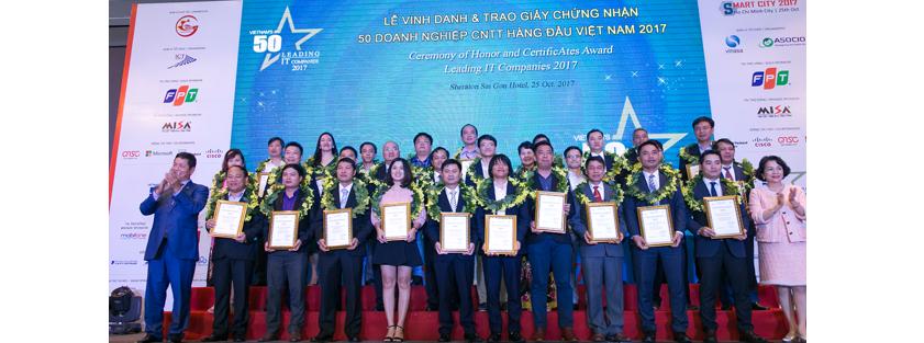 Cafebiz.vn: 3S ERP đưa ITG vào Top 50 Doanh nghiệp CNTT hàng đầu Việt Nam