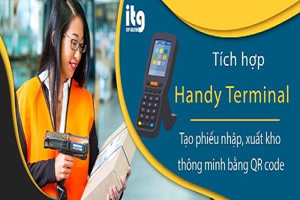 (Tiếng Việt) Quản lý kho thông minh bằng quét QR Code trên máy Handy Terminal