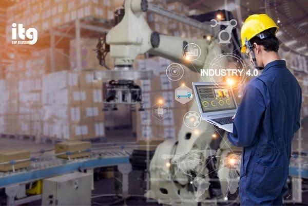 Giải pháp ERP Việt đầu tiên ứng dụng IoT vào quản lý sản xuất