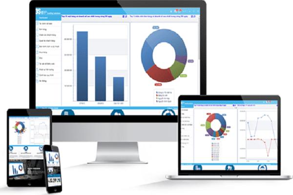 ứng dụng phần mềm ERPtrên thiết bị di động