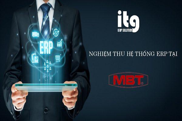 ITG nghiệm thu hệ thống ERP tại Công ty CP Chế tạo biến thế Điện lực Hà Nội