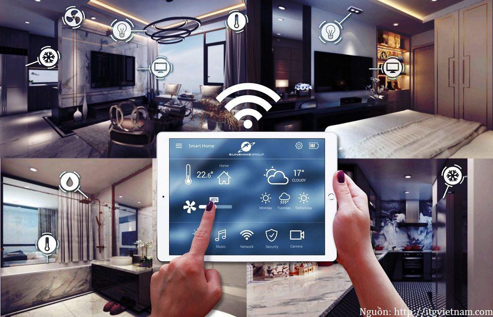 Ứng dụng của Internet of Things trong nhà thông minh