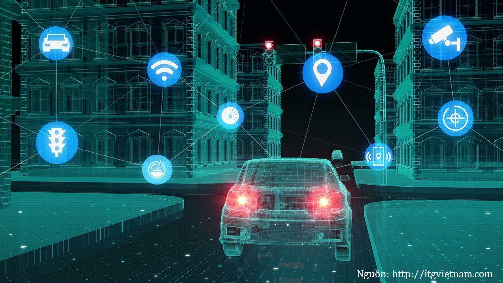Ứng dụng của Internet of Things trong xe không người lái