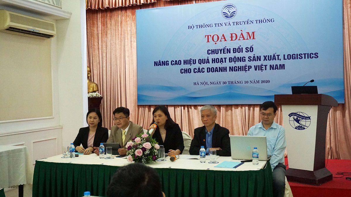 """ITG tham gia tọa đàm """"Chuyển đổi số: Nâng cao hiệu quả hoạt động sản xuất, logistics cho các doanh nghiệp Việt Nam"""" của Bộ Thông tin và Truyền thông"""