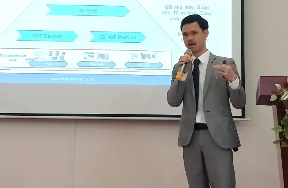 ITG được mời trình bày tham luận về giải pháp nhà máy thông minh 3S iFACTORY trong chương trình đào tạo huấn luyện 200 chuyên gia tư vấn cốt cán của Bộ Công thương