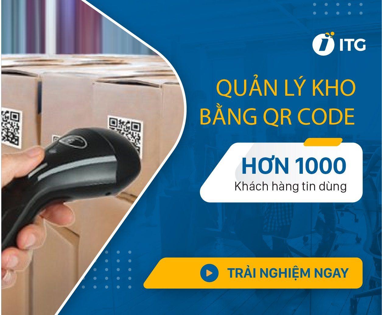 Quản lý kho bằng QR code/ Barcode: Nhanh chóng, hiệu quả, chính xác