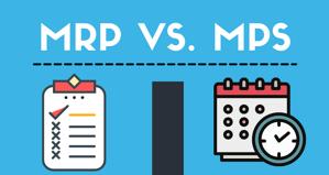 Sự khác biệt giữa MRP và MPS trong lập kế hoạch sản xuất